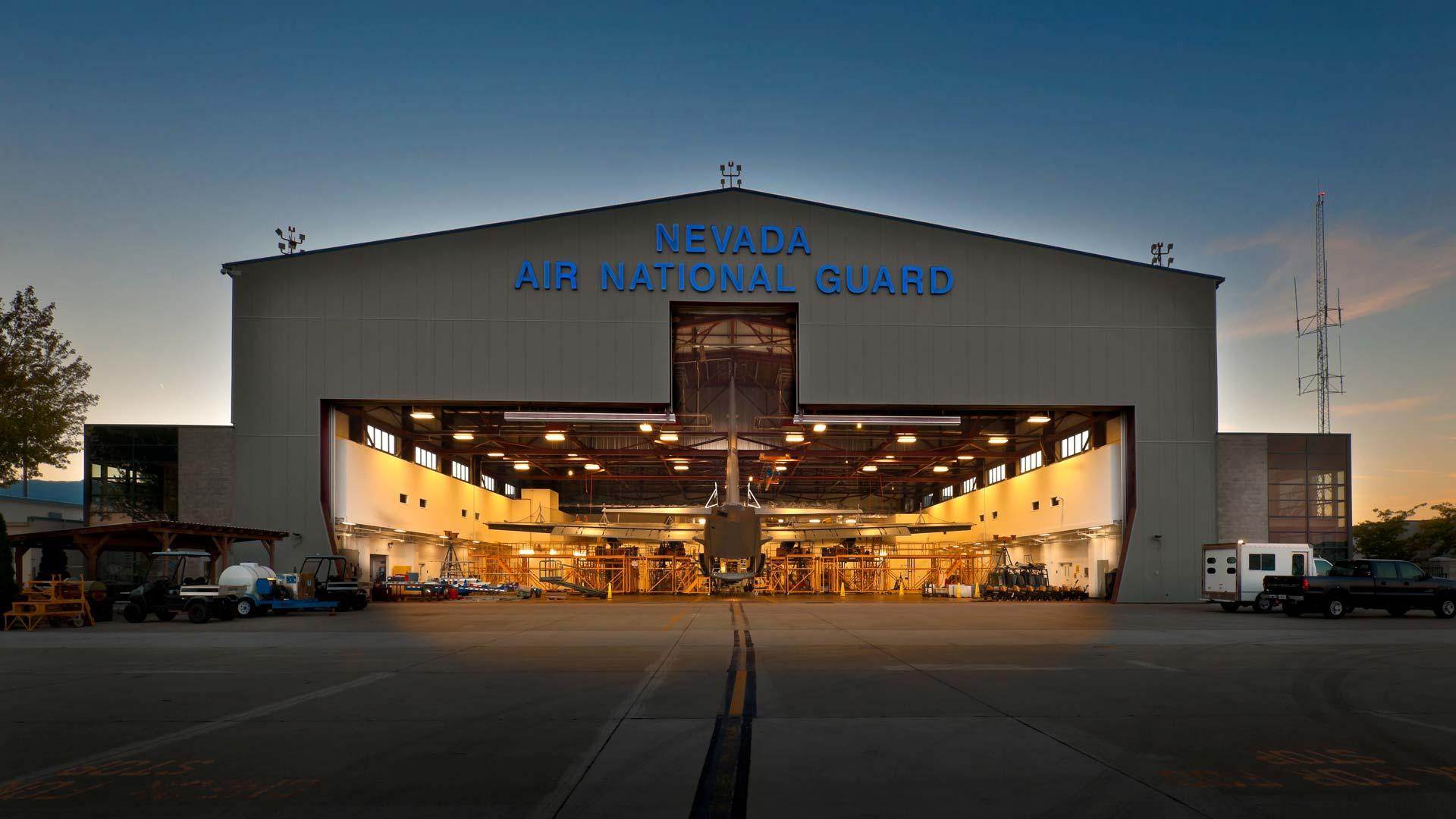National Guard Repair Maintenance Hangar