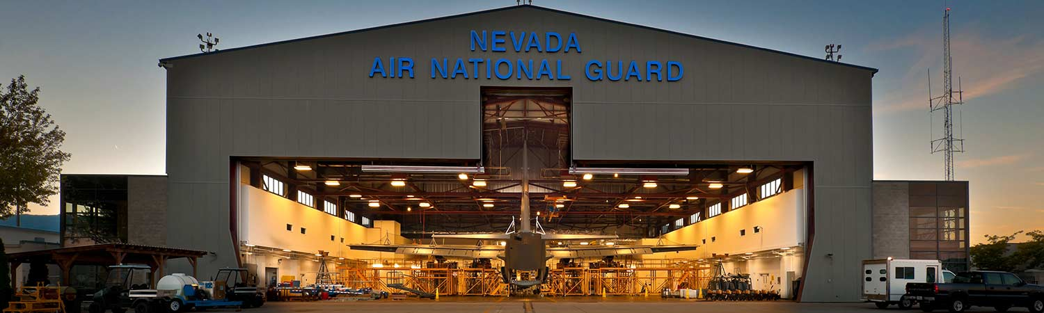 Air National Guard Repair Maintenance Hangar