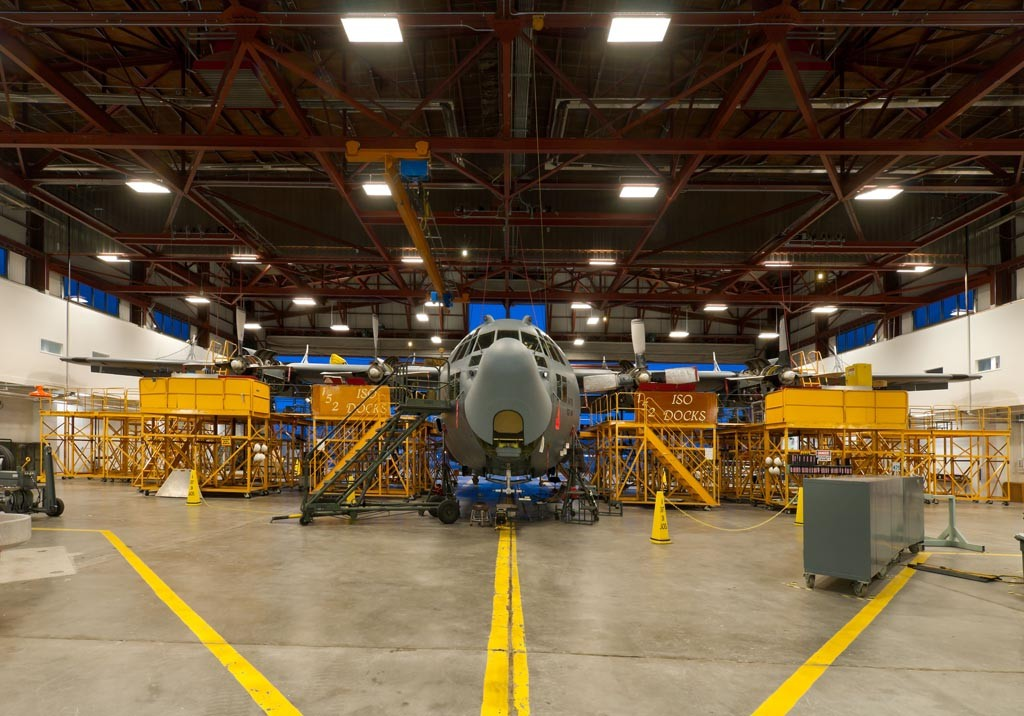 Nevada Air National Guard Repair Maintenance Hangar