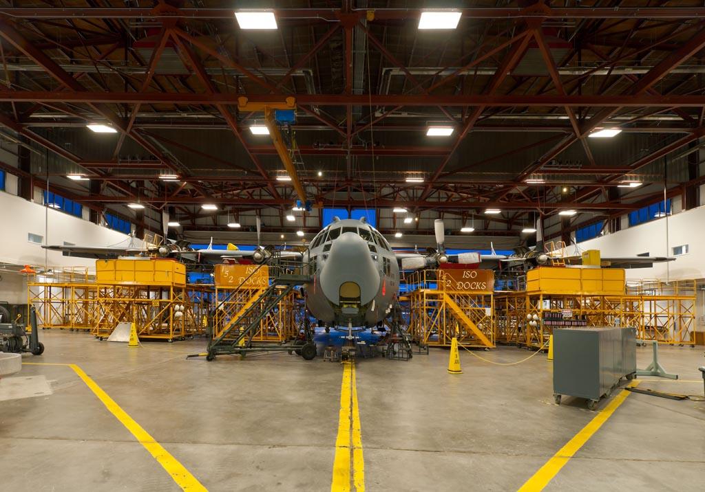 Nevada Air National Guard Repair Maintenance Hangar