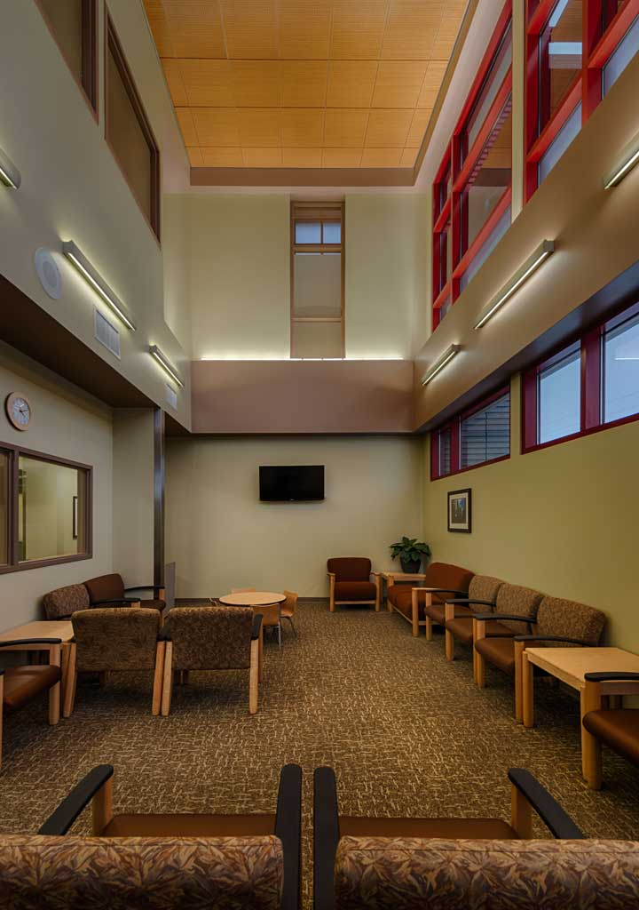 Va Outpatient Mental Health Clinic Lobby H K Architects